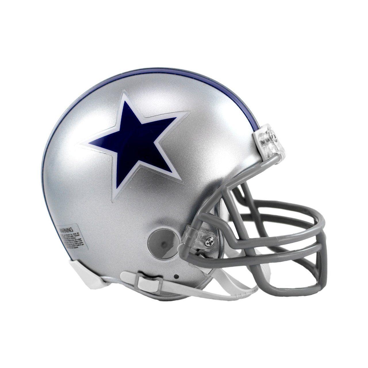 amfoo - Riddell VSR4 Mini Football Helm - Dallas Cowboys 1964-66