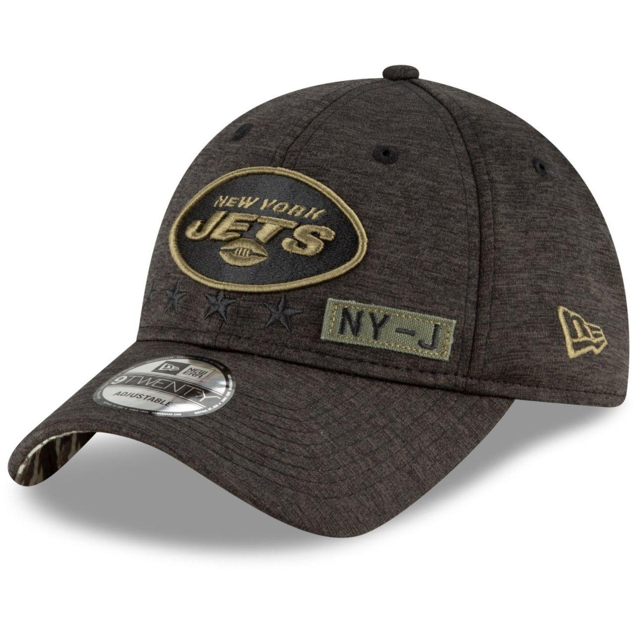 amfoo - New Era 9TWENTY Cap Salute to Service New York Jets