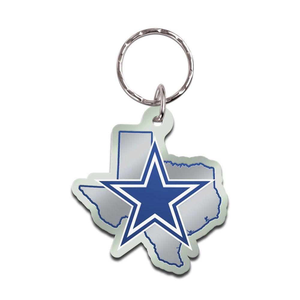amfoo - Wincraft STATE Schlüsselanhänger - NFL Dallas Cowboys