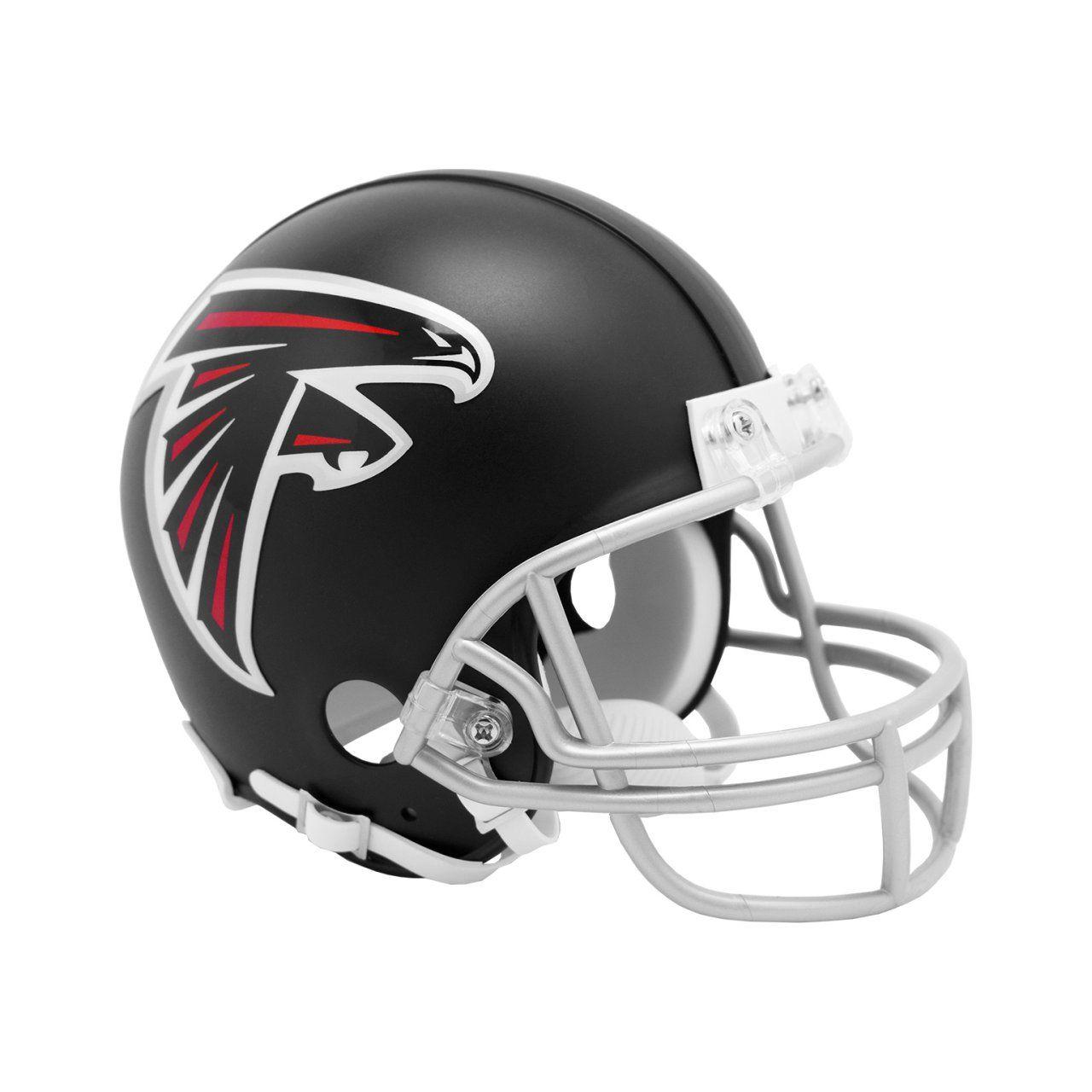 amfoo - Riddell VSR4 Mini Football Helm - NFL Atlanta Falcons 2020
