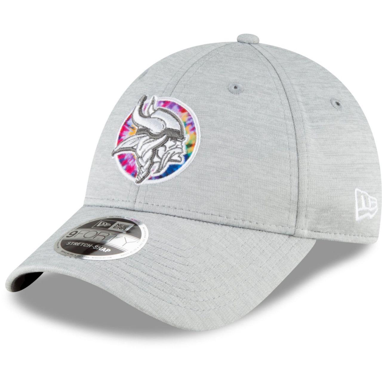 amfoo - New Era 9FORTY Stretch Cap - CRUCIAL CATCH Minnesota Vikings