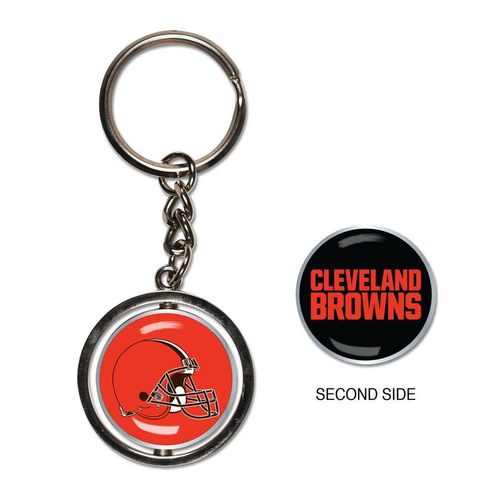 amfoo - Wincraft SPINNER Schlüsselanhänger - NFL Cleveland Browns