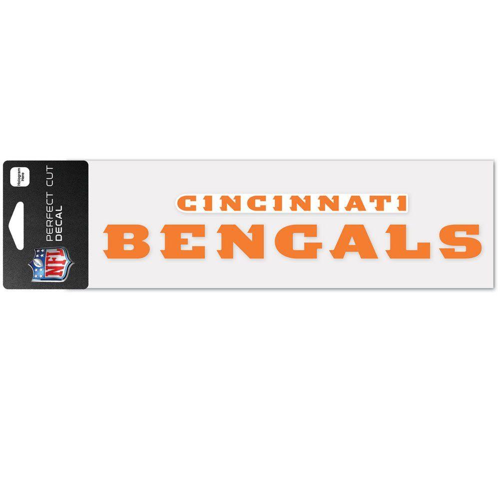 amfoo - Wincraft Aufkleber 8x25cm - NFL Cincinnati Bengals