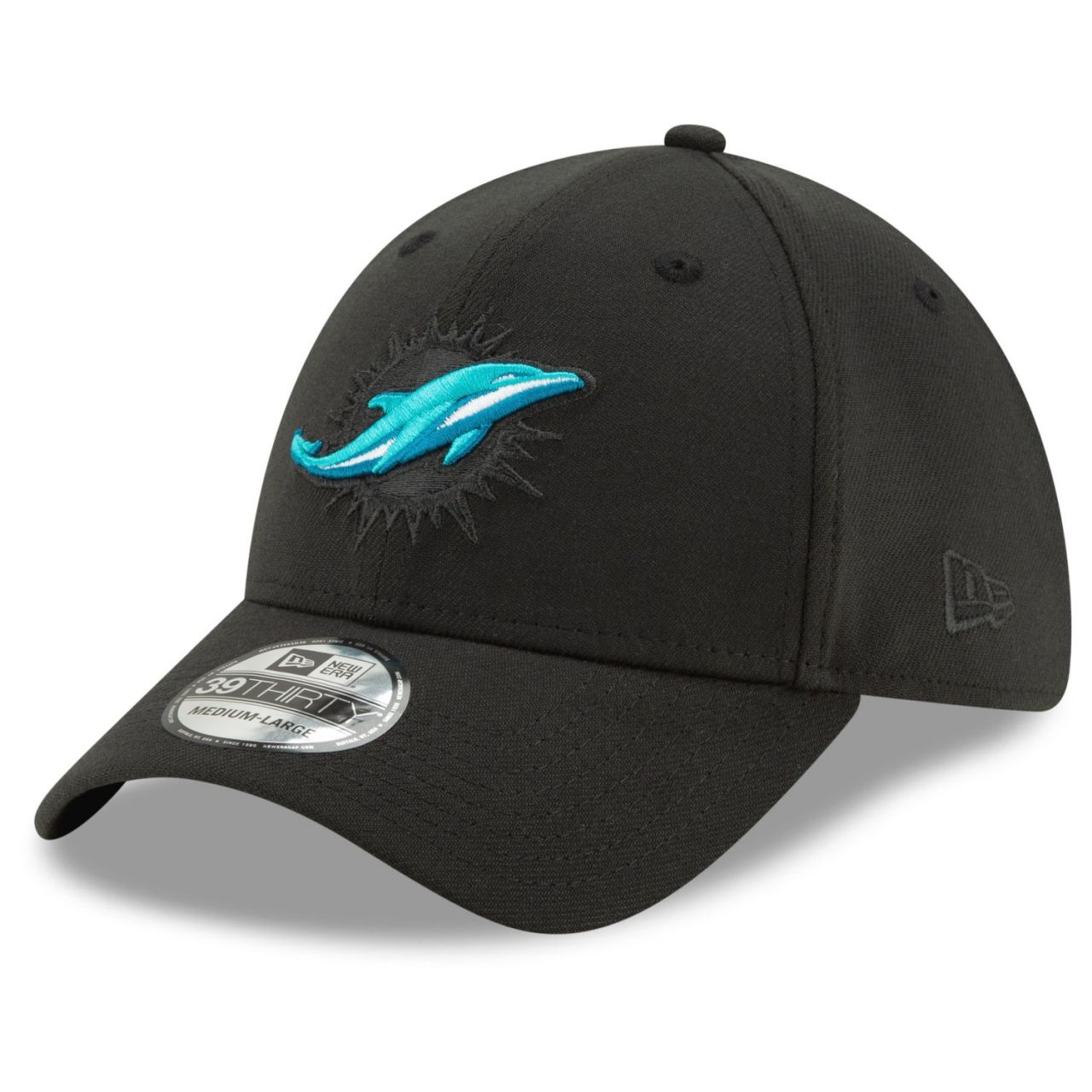 amfoo - New Era 39Thirty Stretch Cap - ELEMENTS Miami Dolphins