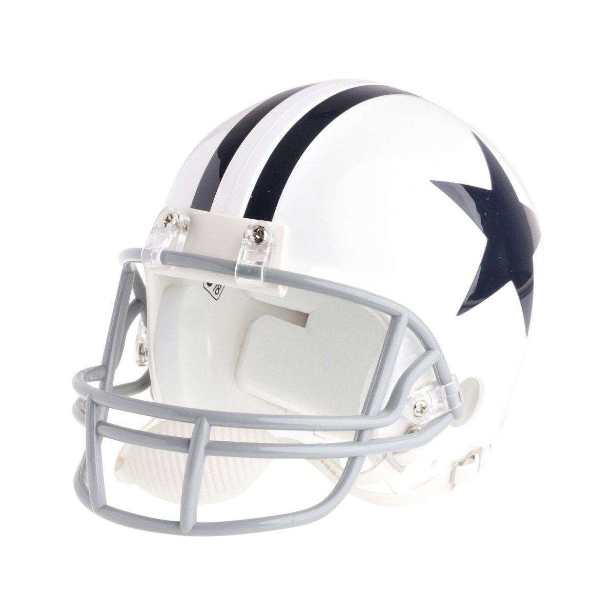 amfoo - Riddell VSR4 Mini Football Helm - NFL Dallas Cowboys 1960-63