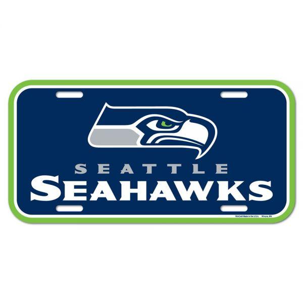 Wincraft NFL Kennzeichenschild - Seattle Seahawks