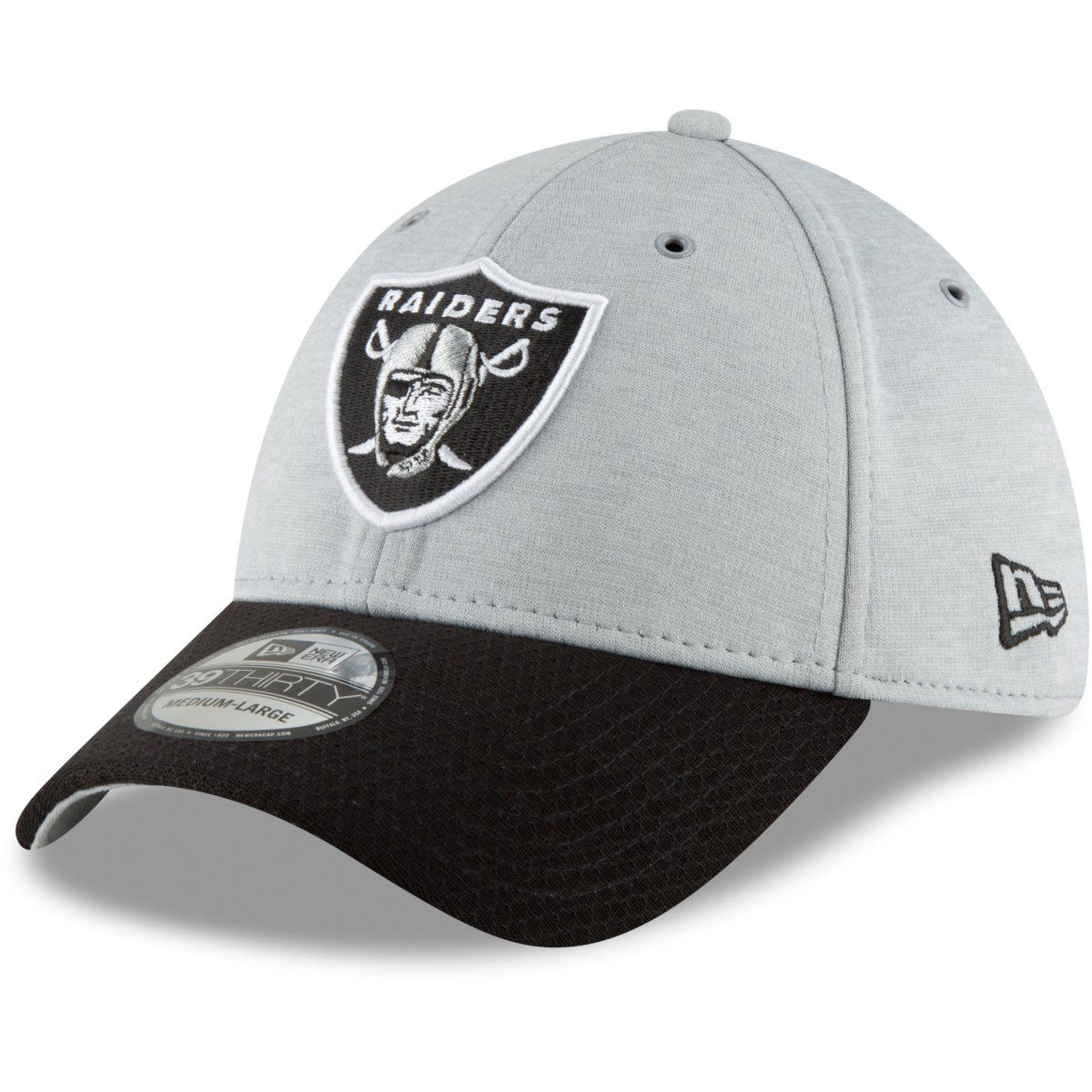 amfoo - New Era 39Thirty Cap - Sideline Home Oakland Raiders