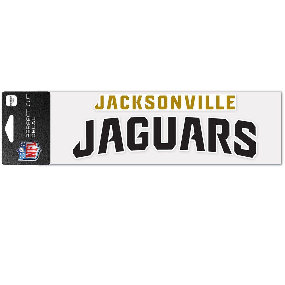amfoo - Wincraft Aufkleber 8x25cm - NFL Jacksonville Jaguars