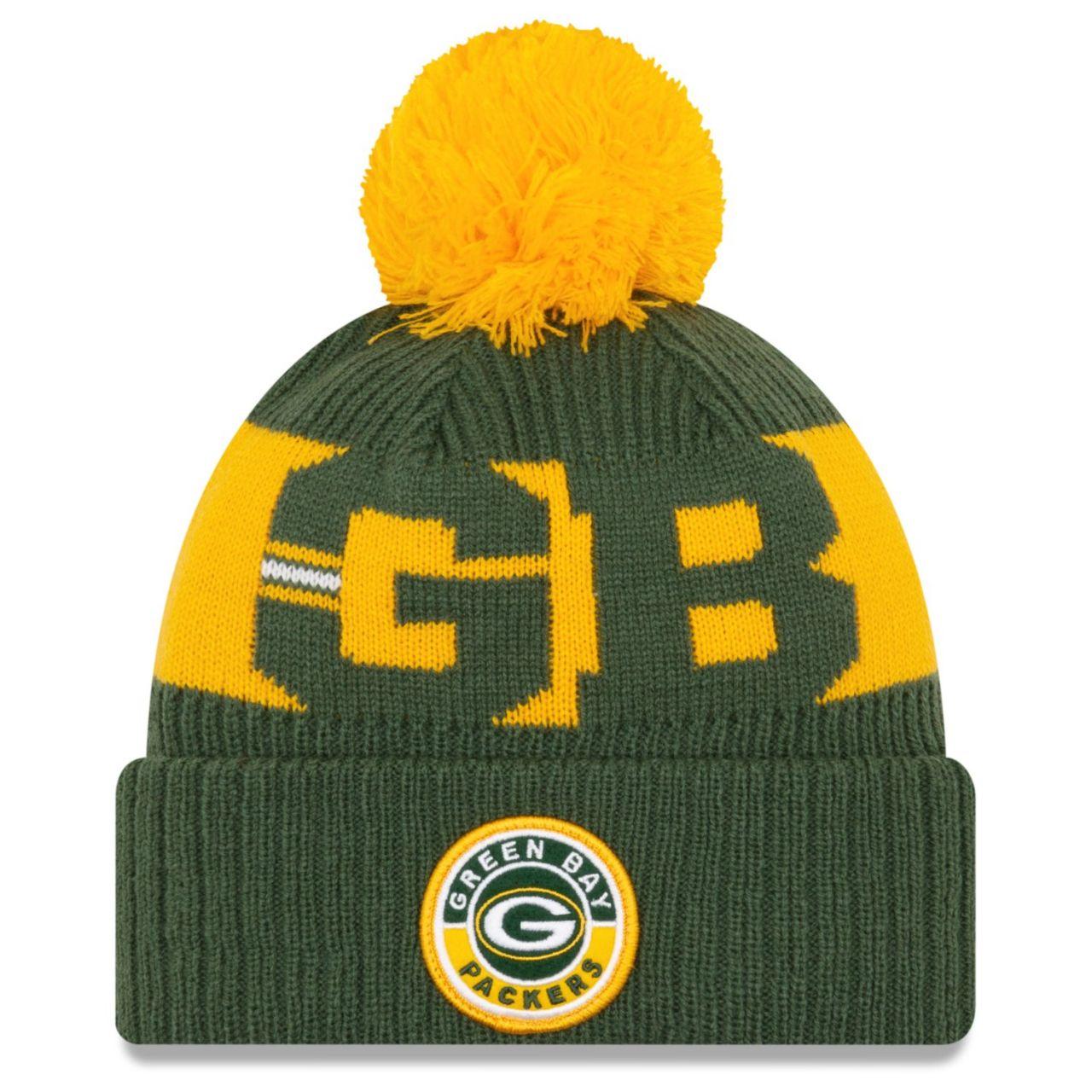 amfoo - New Era NFL ON-FIELD Sideline Mütze - Green Bay Packers