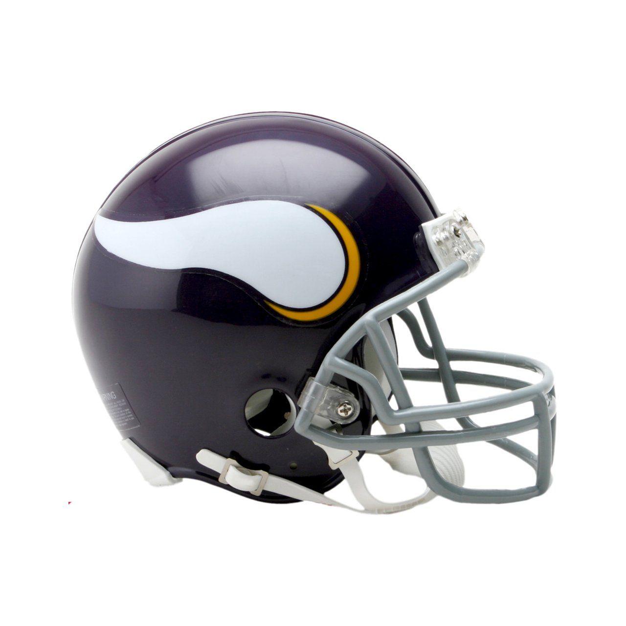 amfoo - Riddell VSR4 Mini Football Helm - Minnesota Vikings 1961-79
