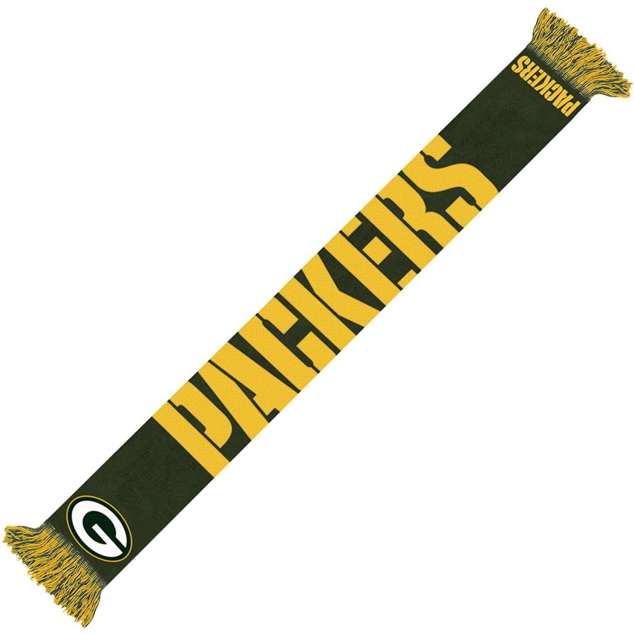 amfoo - FOCO NFL Winter Schal - WORDMARK Green Bay Packers