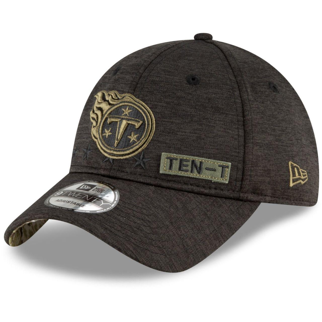 amfoo - New Era 9TWENTY Cap Salute to Service Tennessee Titans