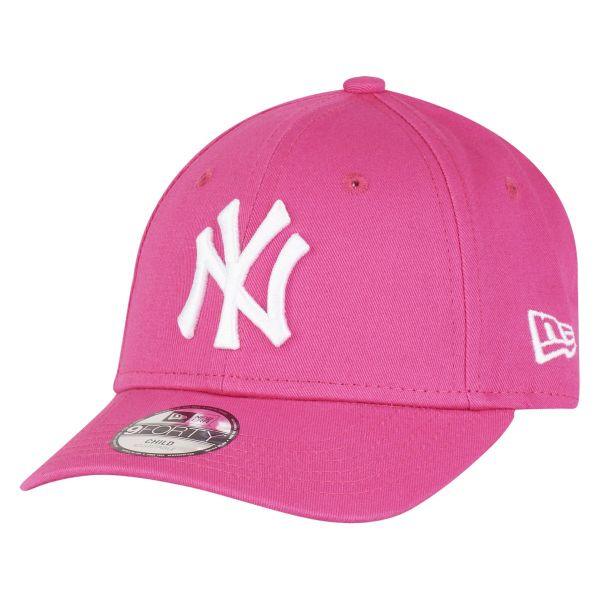 New Era 9Forty Stretched Mädchen KIDS Cap - NY Yankees pink