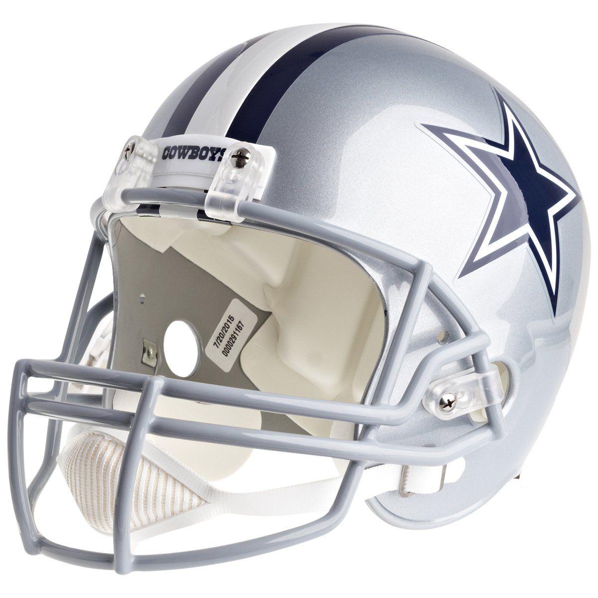 amfoo - Riddell VSR4 Replica Football Helm - NFL Dallas Cowboys
