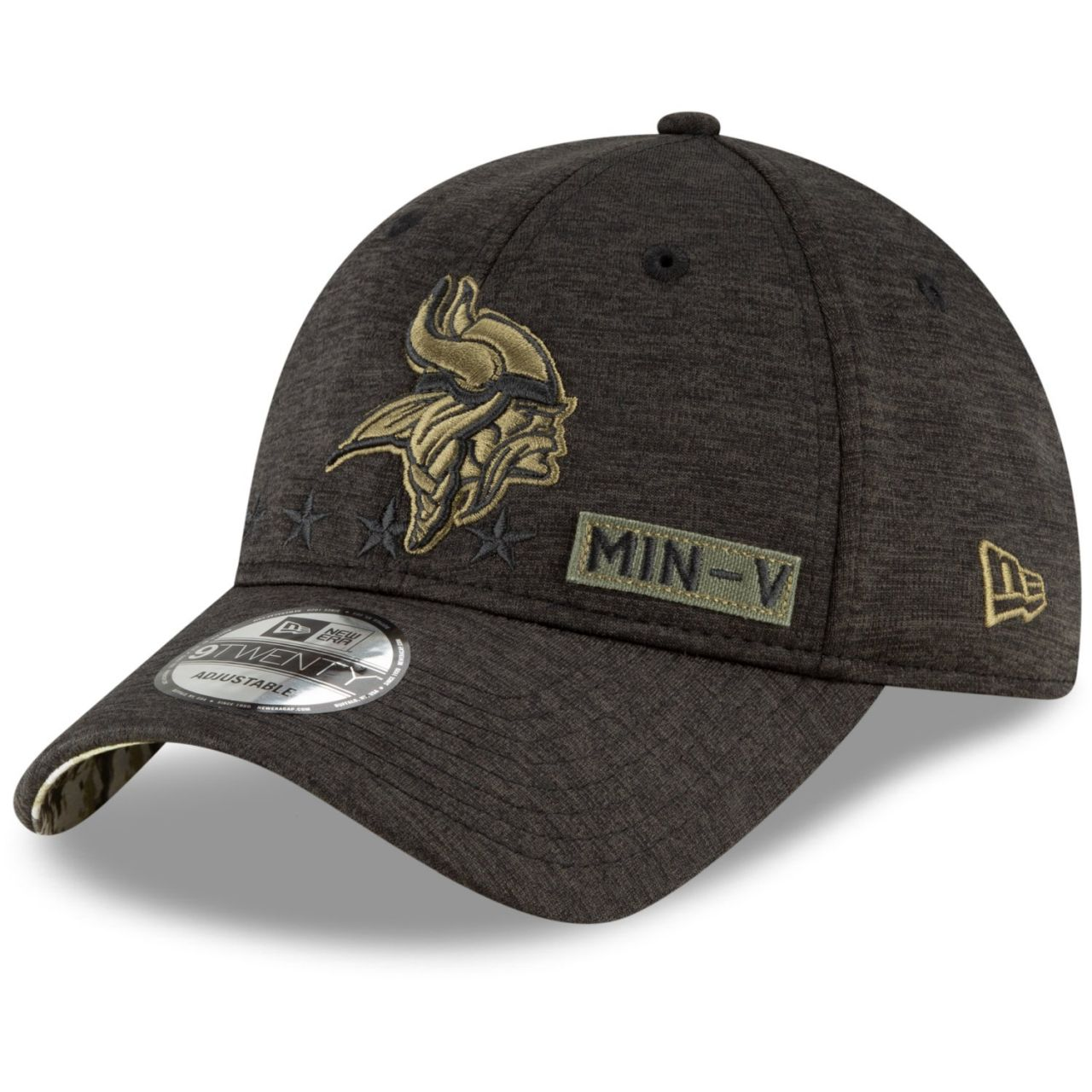 amfoo - New Era 9TWENTY Cap Salute to Service Minnesota Vikings