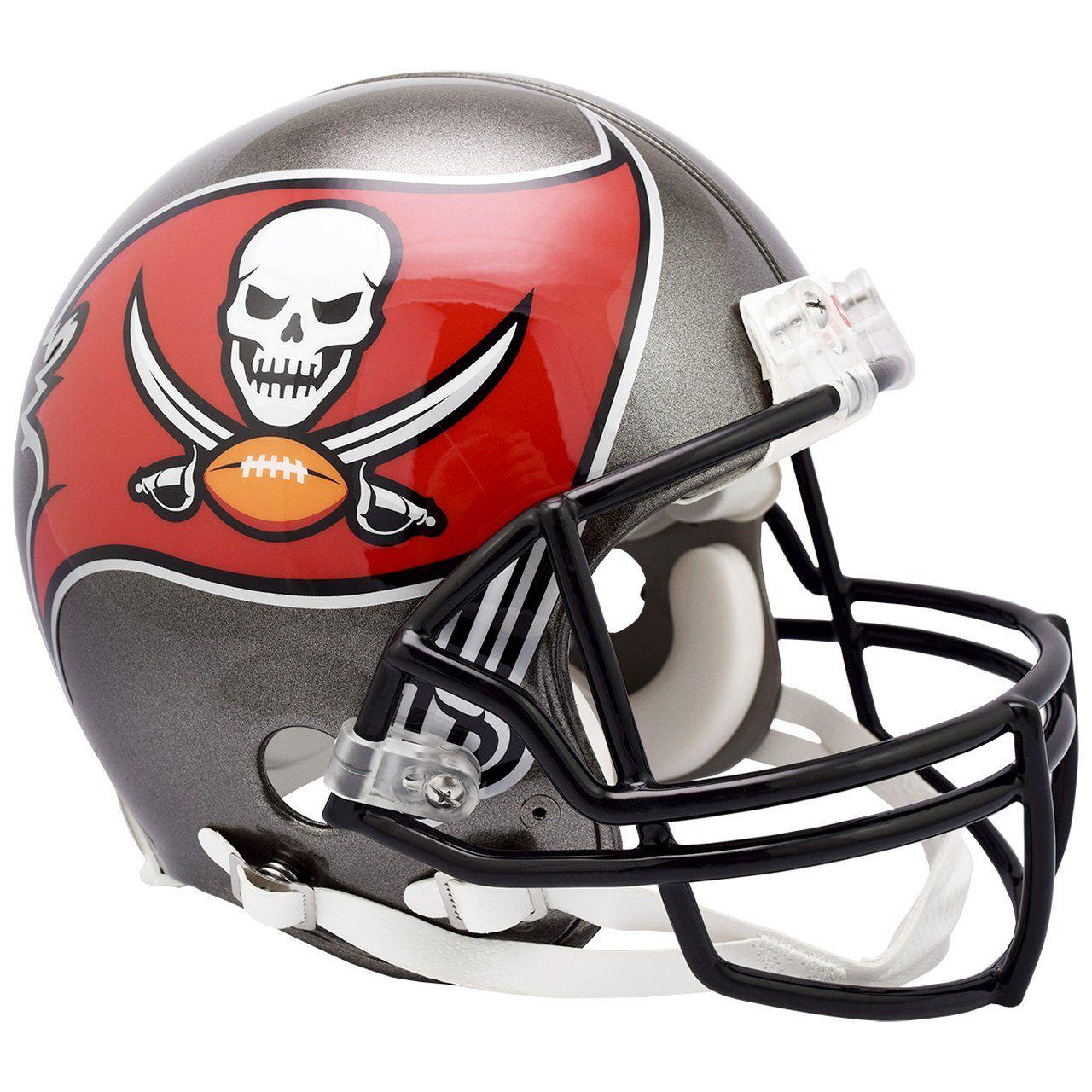 amfoo - Riddell VSR4 Authentic Football Helm - Tampa Bay Buccaneers