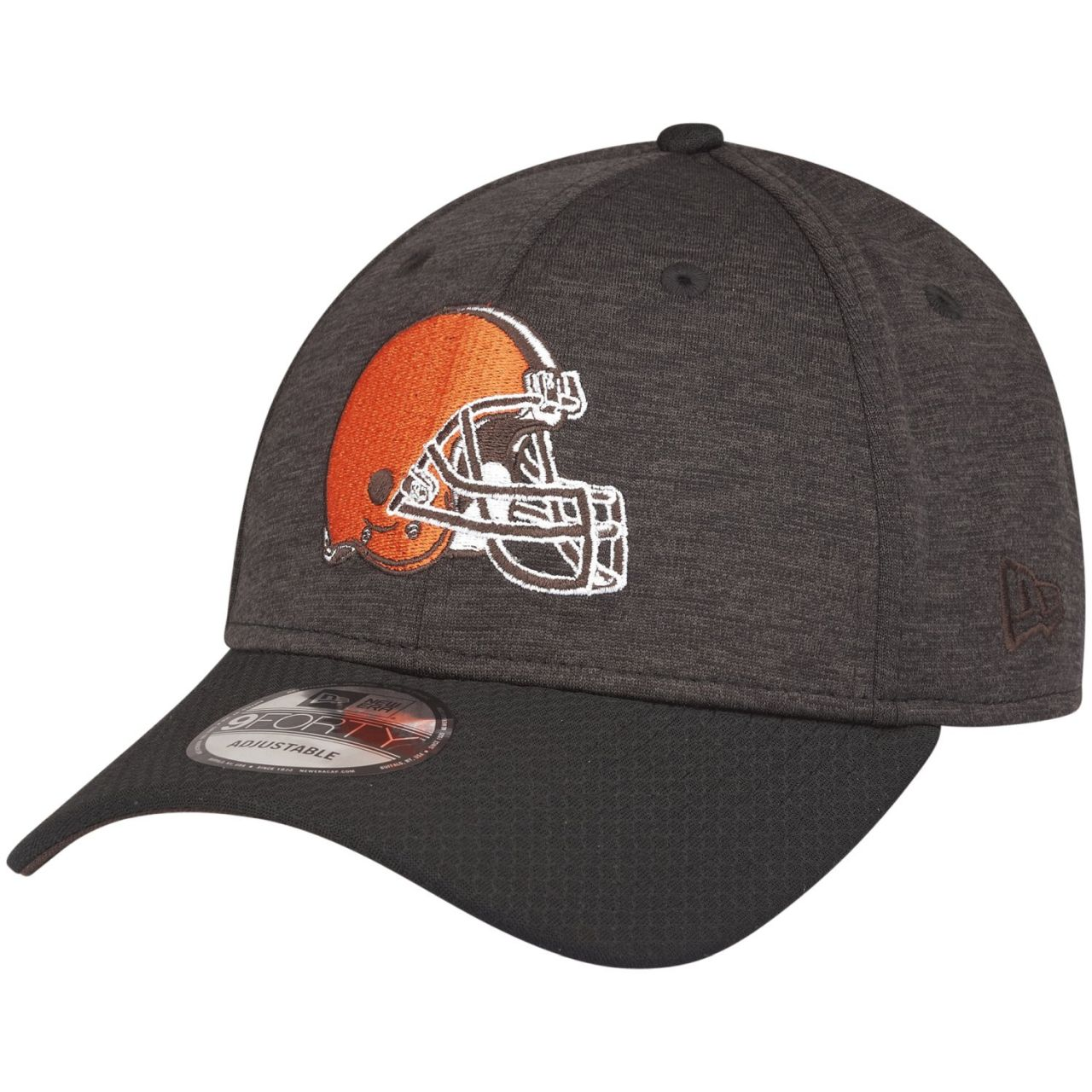 amfoo - New Era 9Forty NFL Cap - SHADOW HEX Cleveland Browns Helm