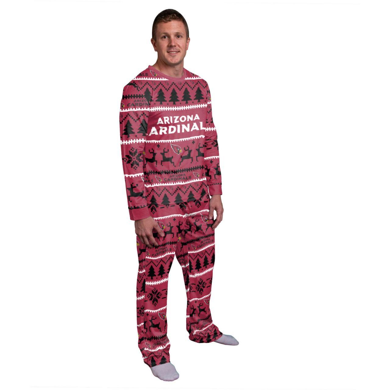 amfoo - NFL Winter XMAS Pyjama Schlafanzug - Arizona Cardinals