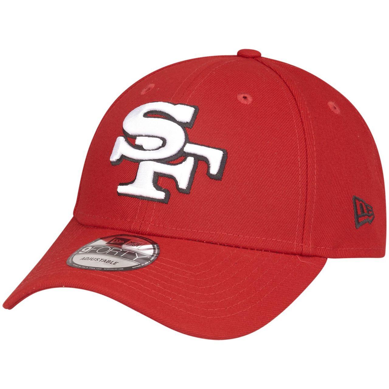 amfoo - New Era 9Forty NFL Cap - ELEMENTAL San Francisco 49ers rot
