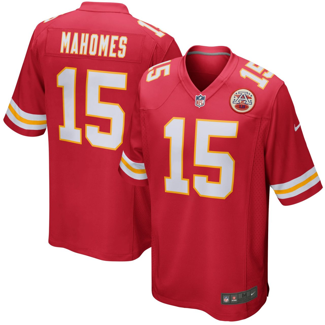 amfoo - Nike GAME Jersey Kansas City Chiefs #15 Patrick Mahomes