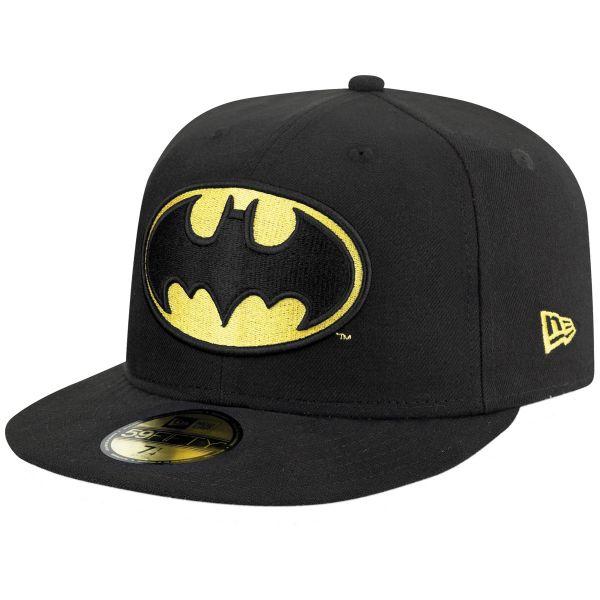 New Era 59FIFTY Cap - BATMAN schwarz / gelb