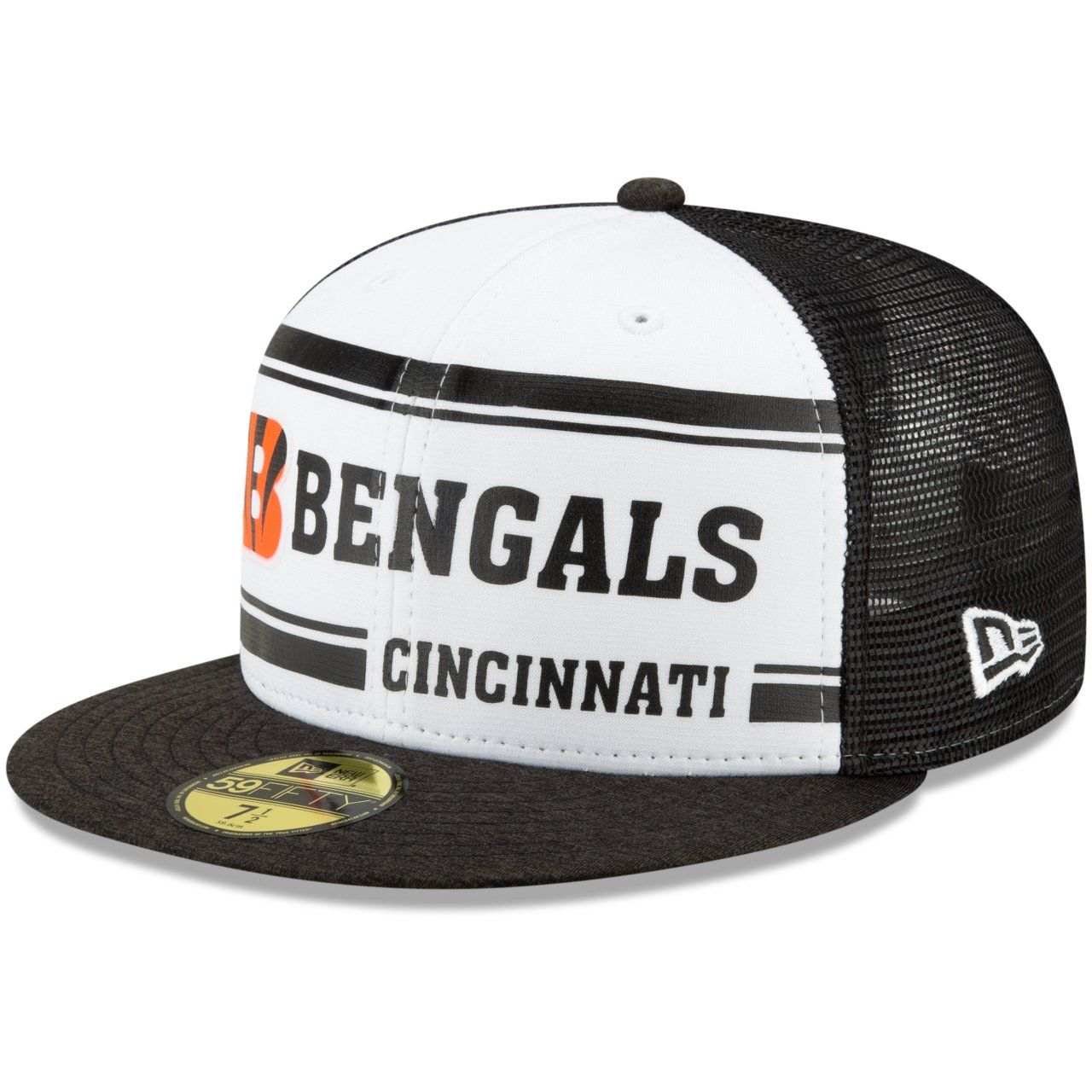 amfoo - New Era 59Fifty Cap - Sideline 70s Home Cincinnati Bengals