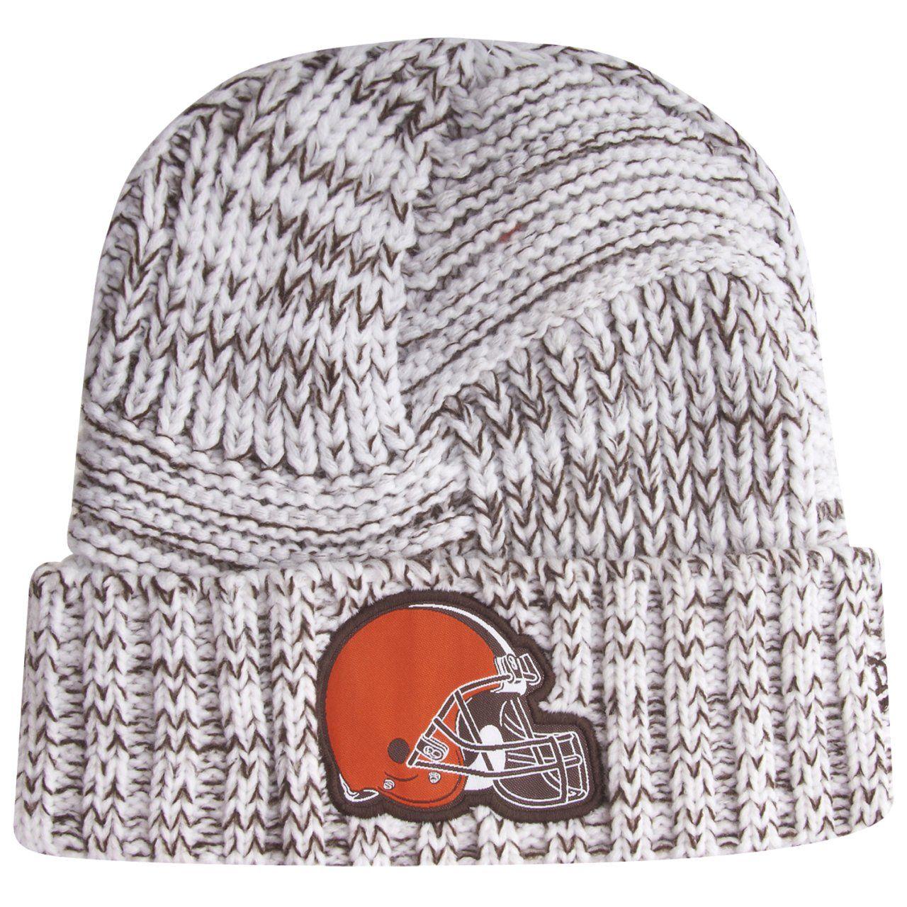 amfoo - New Era Sideline 2019 Damen Strick Mütze - Cleveland Browns