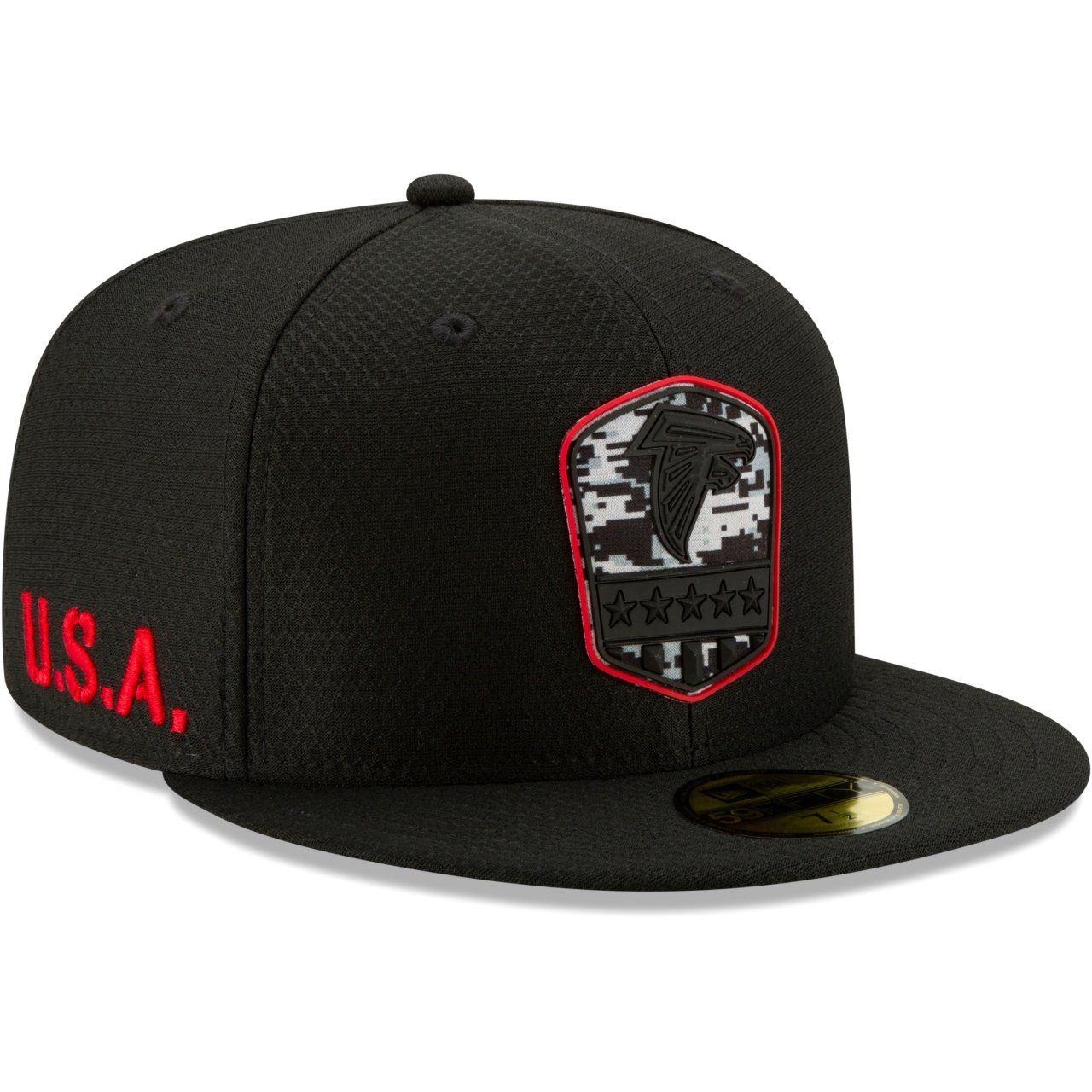 amfoo - New Era 59Fifty Cap - Salute to Service Atlanta Falcons