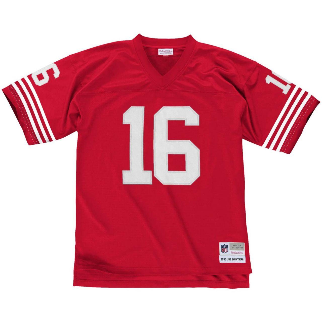 amfoo - NFL Legacy Jersey - San Francisco 49ers 1990 Joe Montana