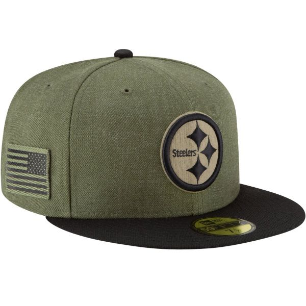 New Era 59Fifty Cap - Salute to Service Pittsburgh Steelers