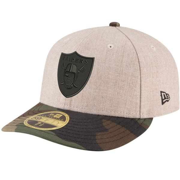 New Era 59Fifty LP Fitted Cap - NFL Oakland Raiders
