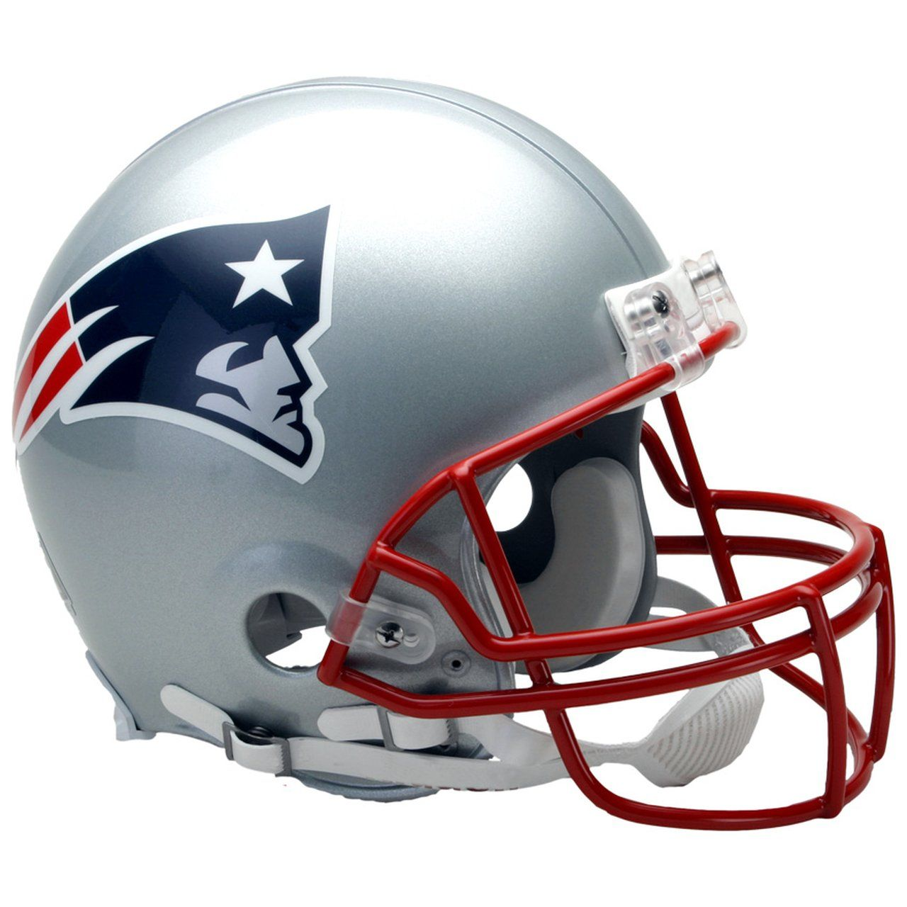 amfoo - Riddell VSR4 Authentic Football Helm - New England Patriots