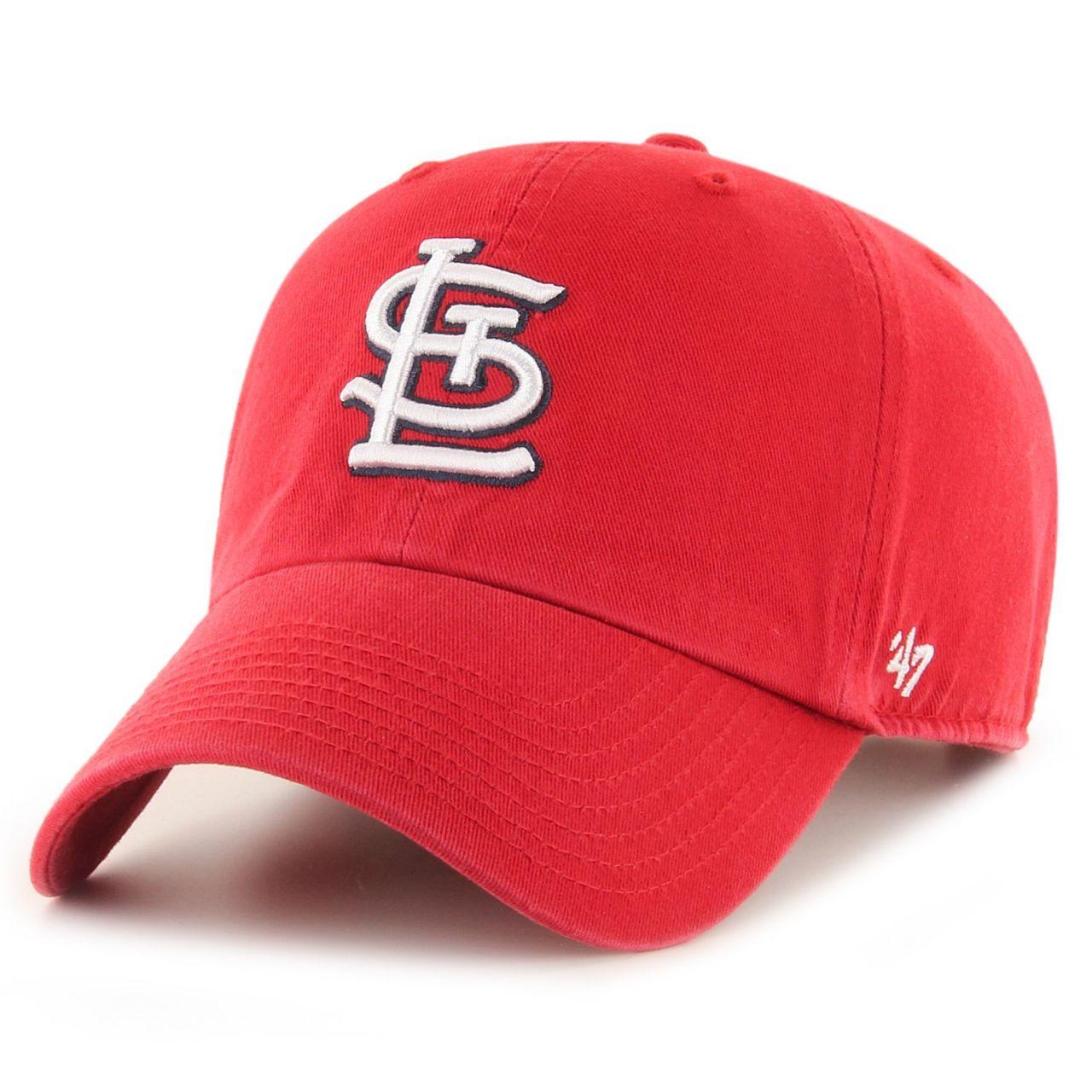 amfoo - 47 Brand Adjustable Cap - CLEAN UP St Louis Cardinals rot