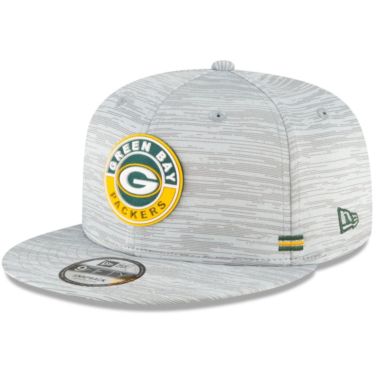 amfoo - New Era 9FIFTY Snapback Cap SIDELINE 2020 Green Bay Packers