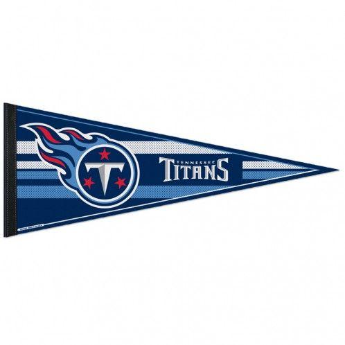 amfoo - Wincraft NFL Filz Wimpel 75x30cm - Tennessee Titans