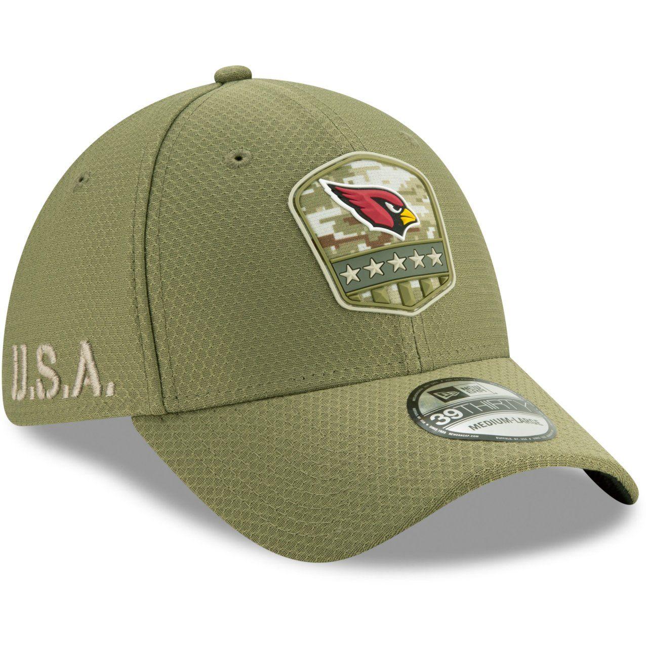 amfoo - New Era 39Thirty Cap Salute to Service Arizona Cardinals