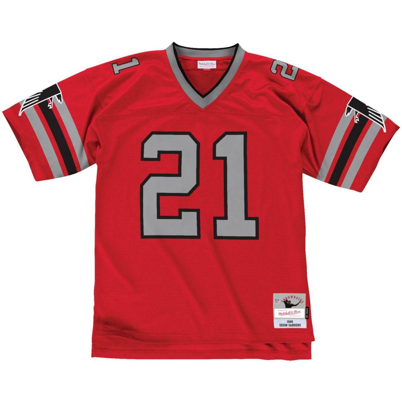 amfoo - NFL Legacy Jersey - Atlanta Falcons 1989 Deion Sanders