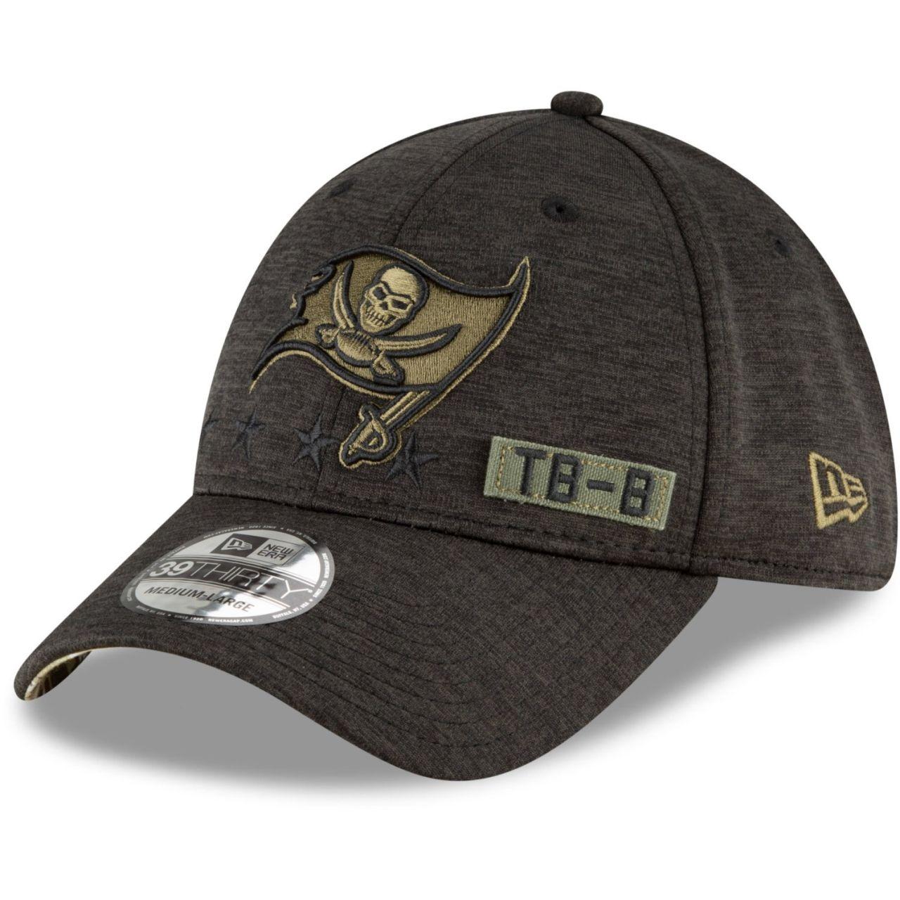 amfoo - New Era 39Thirty Cap Salute to Service Tampa Bay Buccaneers