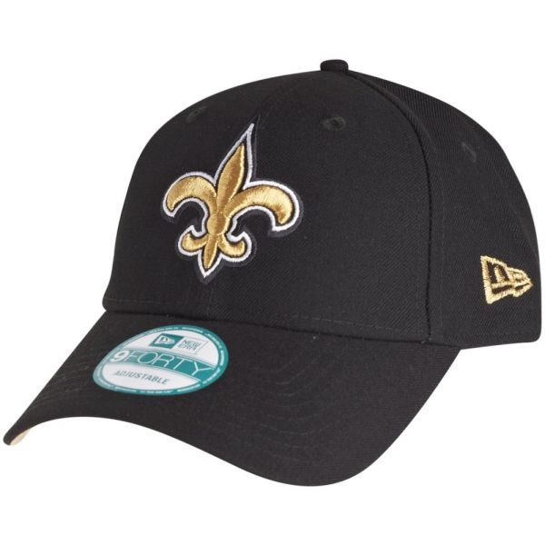 New Era 9Forty Cap - NFL LEAGUE New Orleans Saints schwarz
