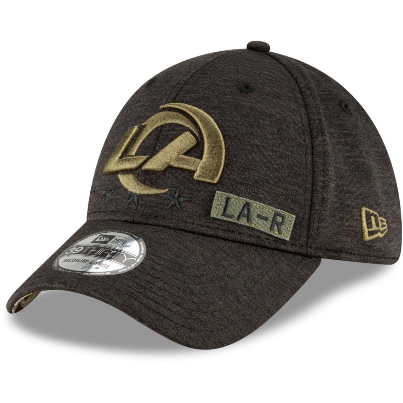 amfoo - New Era 39Thirty Cap Salute to Service Los Angeles Rams