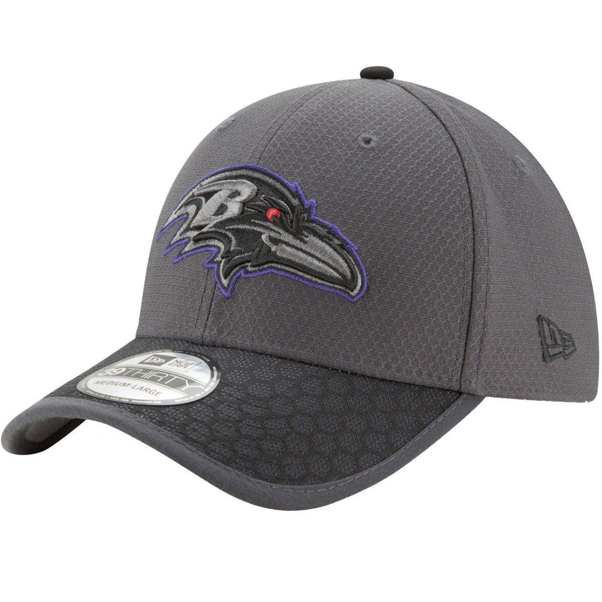 amfoo - New Era 39Thirty Cap - NFL 2017 SIDELINE Baltimore Ravens