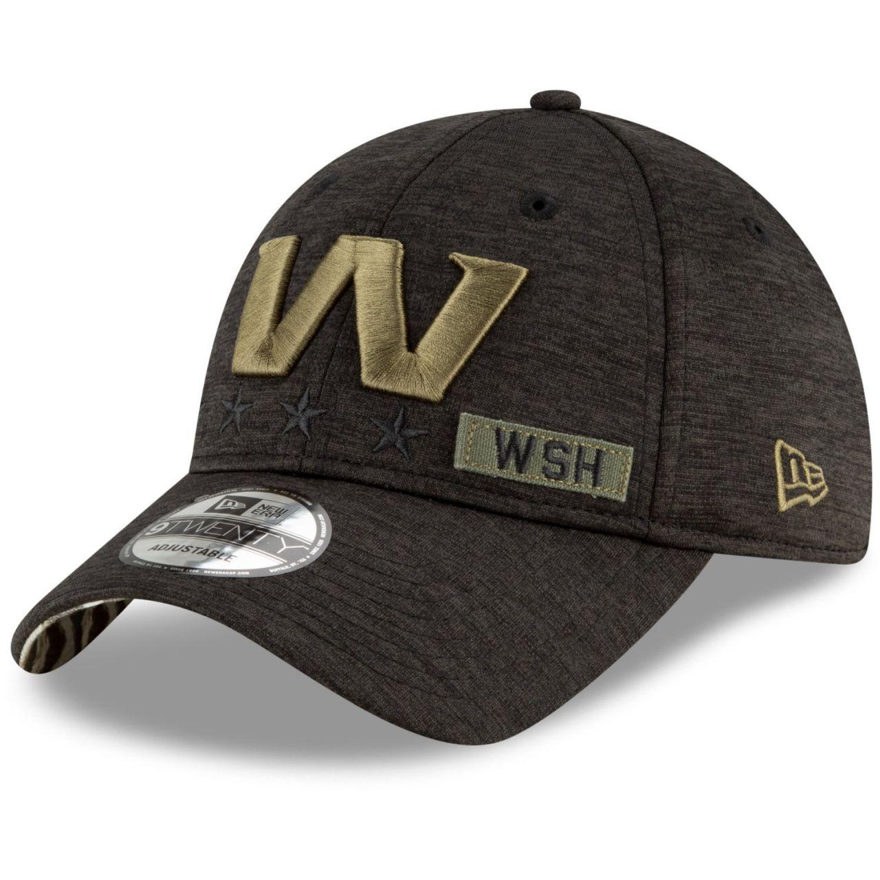 amfoo - New Era 9TWENTY Cap Salute to Service Washington Team