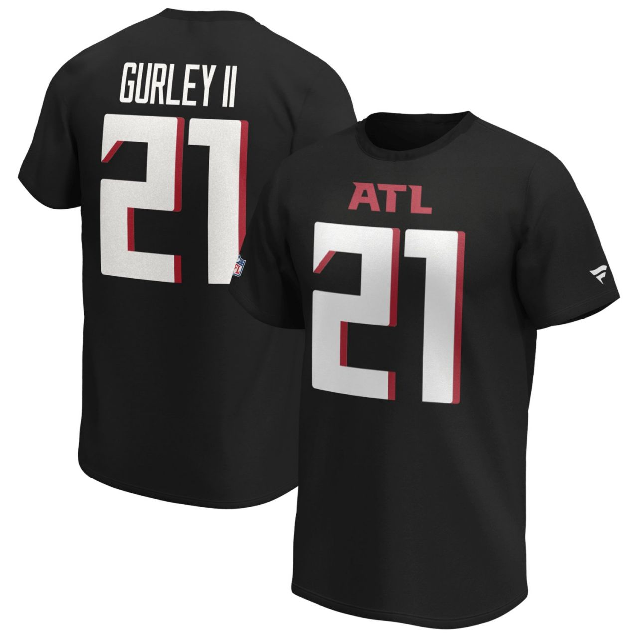 amfoo - Atlanta Falcons NFL Shirt #21 Todd Gurley