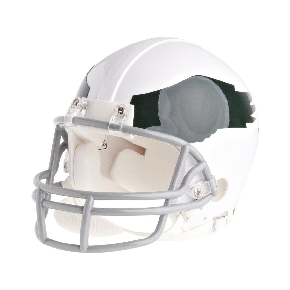 amfoo - Riddell Mini Football Helm - NFL Philadelphia Eagles 69-73