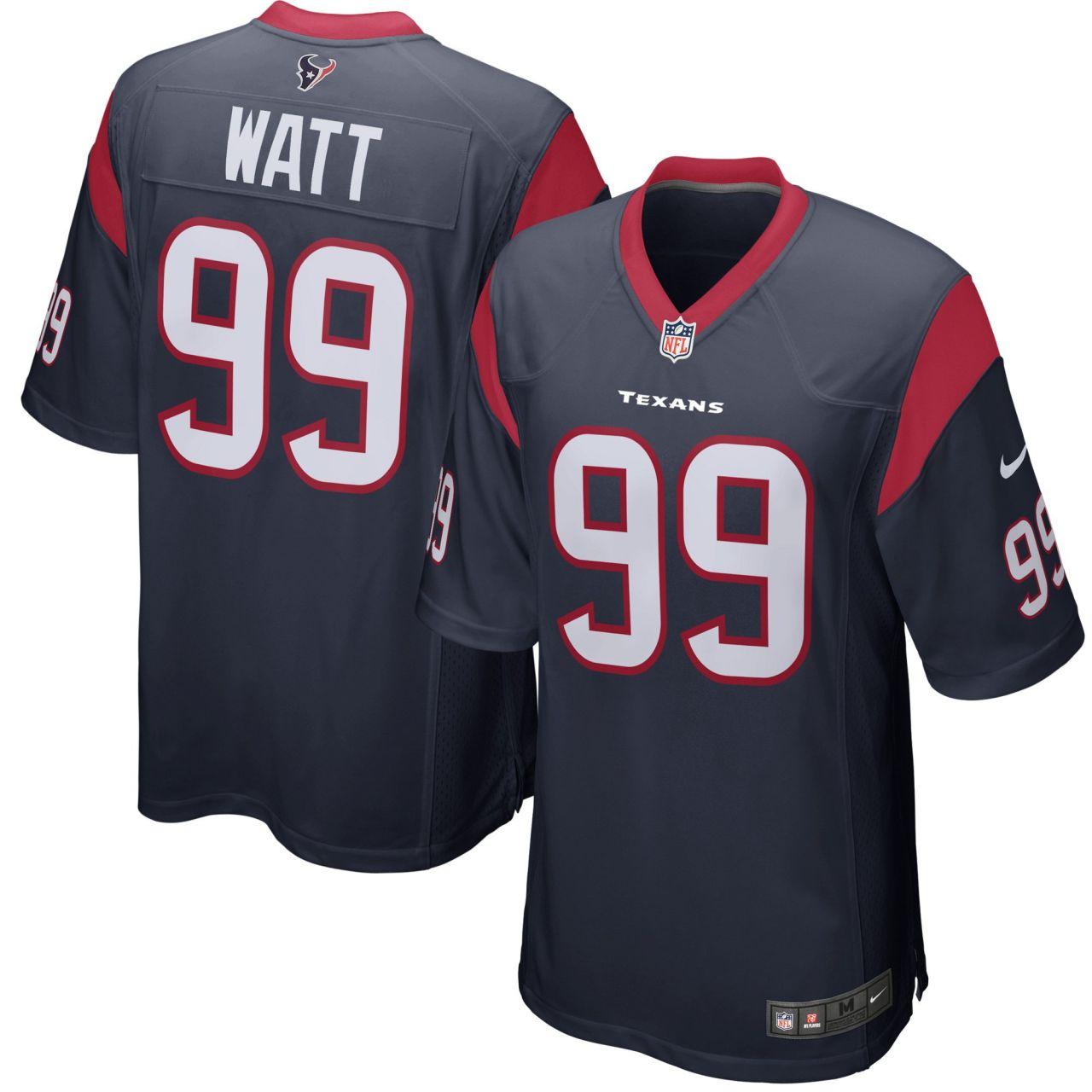 amfoo - Nike GAME Jersey Trikot Houston Texans #99 J. J. Watt