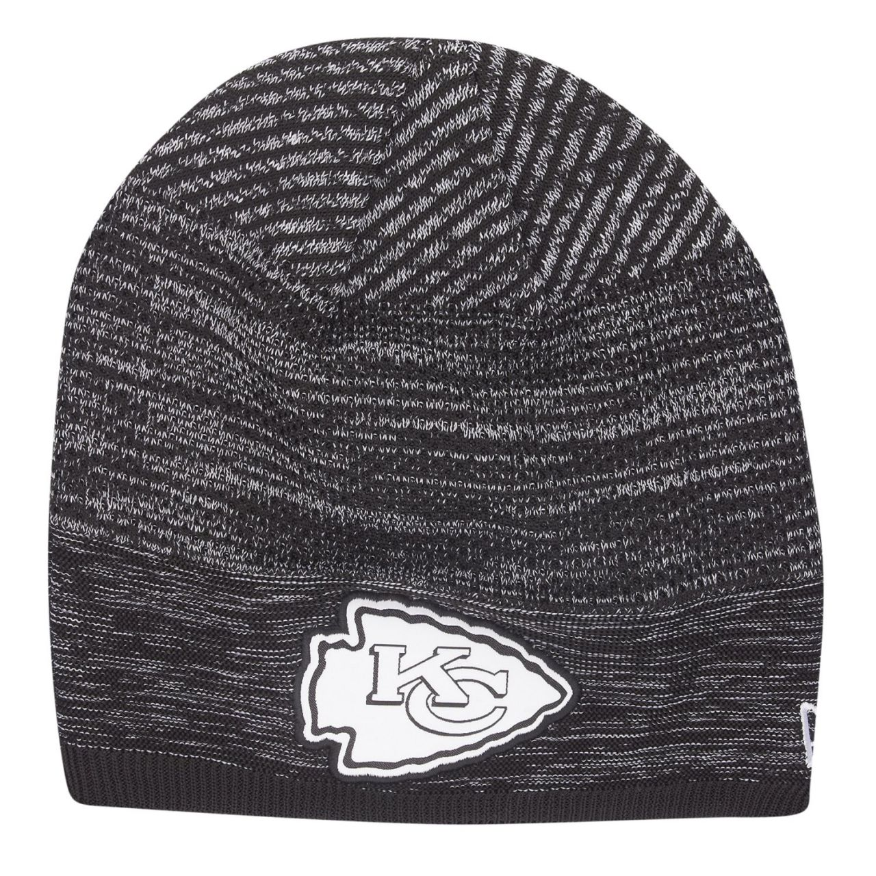 amfoo - New Era TECH KNIT Wintermütze NFL Beanie Kansas City Chiefs