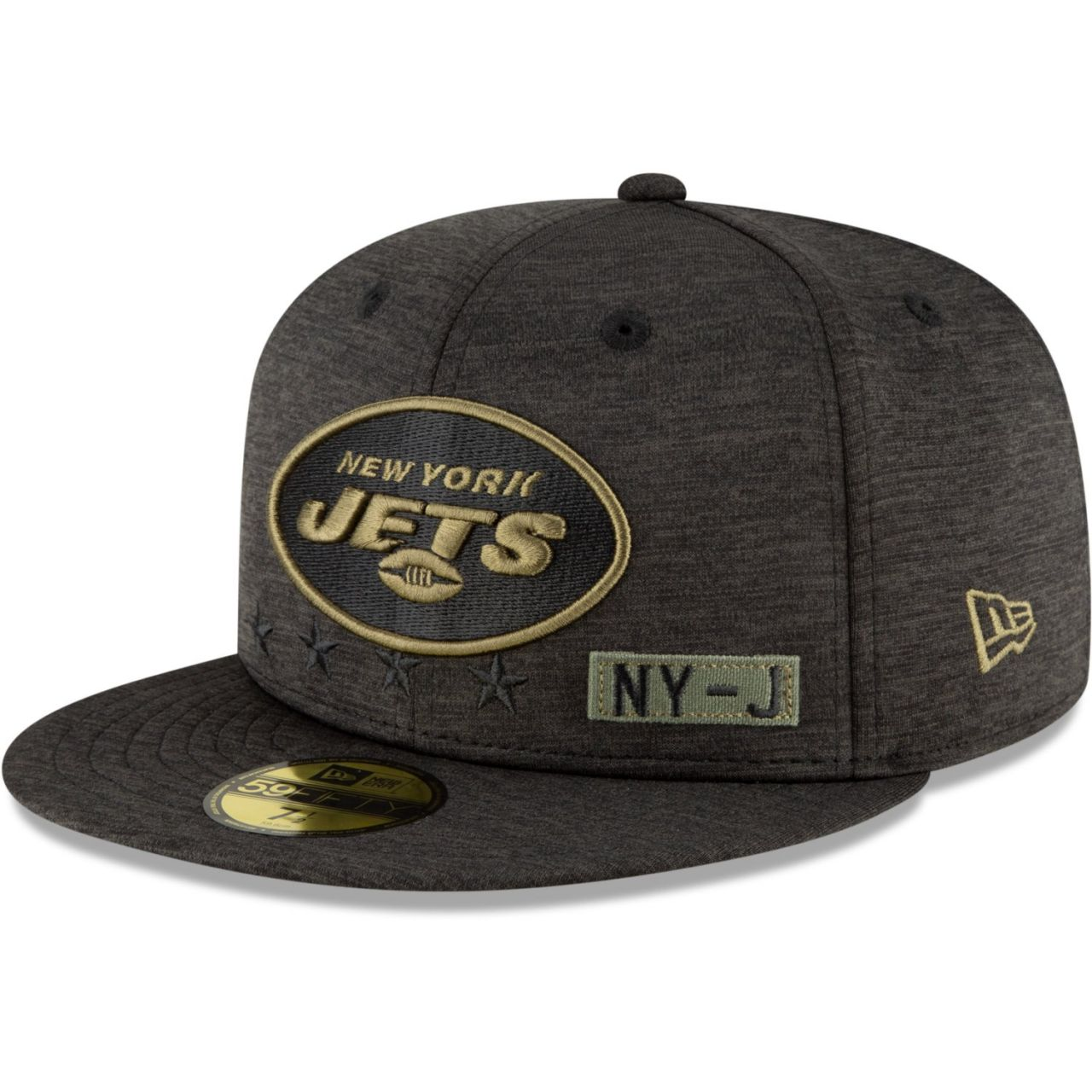 amfoo - New Era 59FIFTY Cap Salute to Service New York Jets