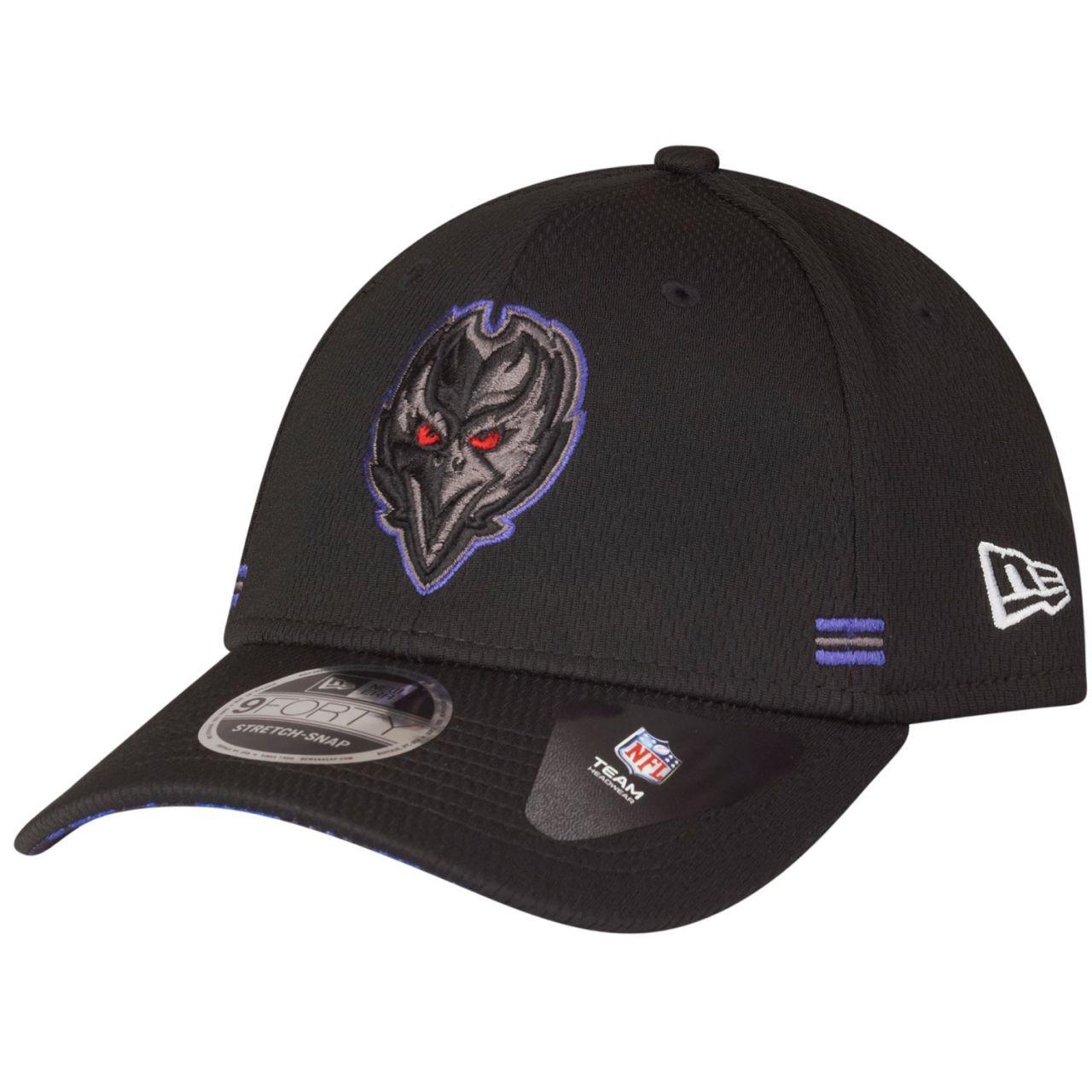 amfoo - New Era 9FORTY Stretch Snap Cap - HOMETOWN Baltimore Ravens