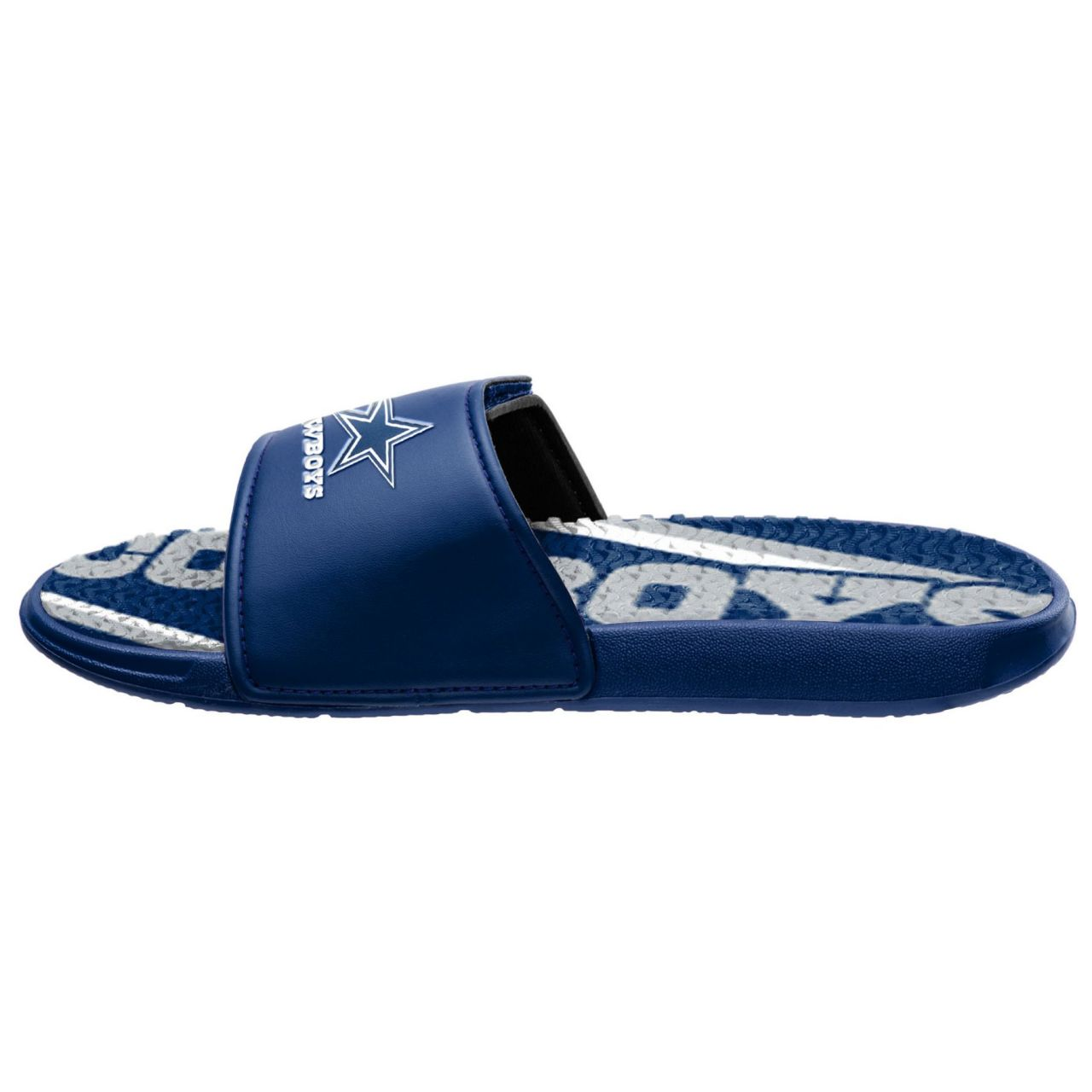 amfoo - Dallas Cowboys Badelatschen NFL GEL Sport Slides