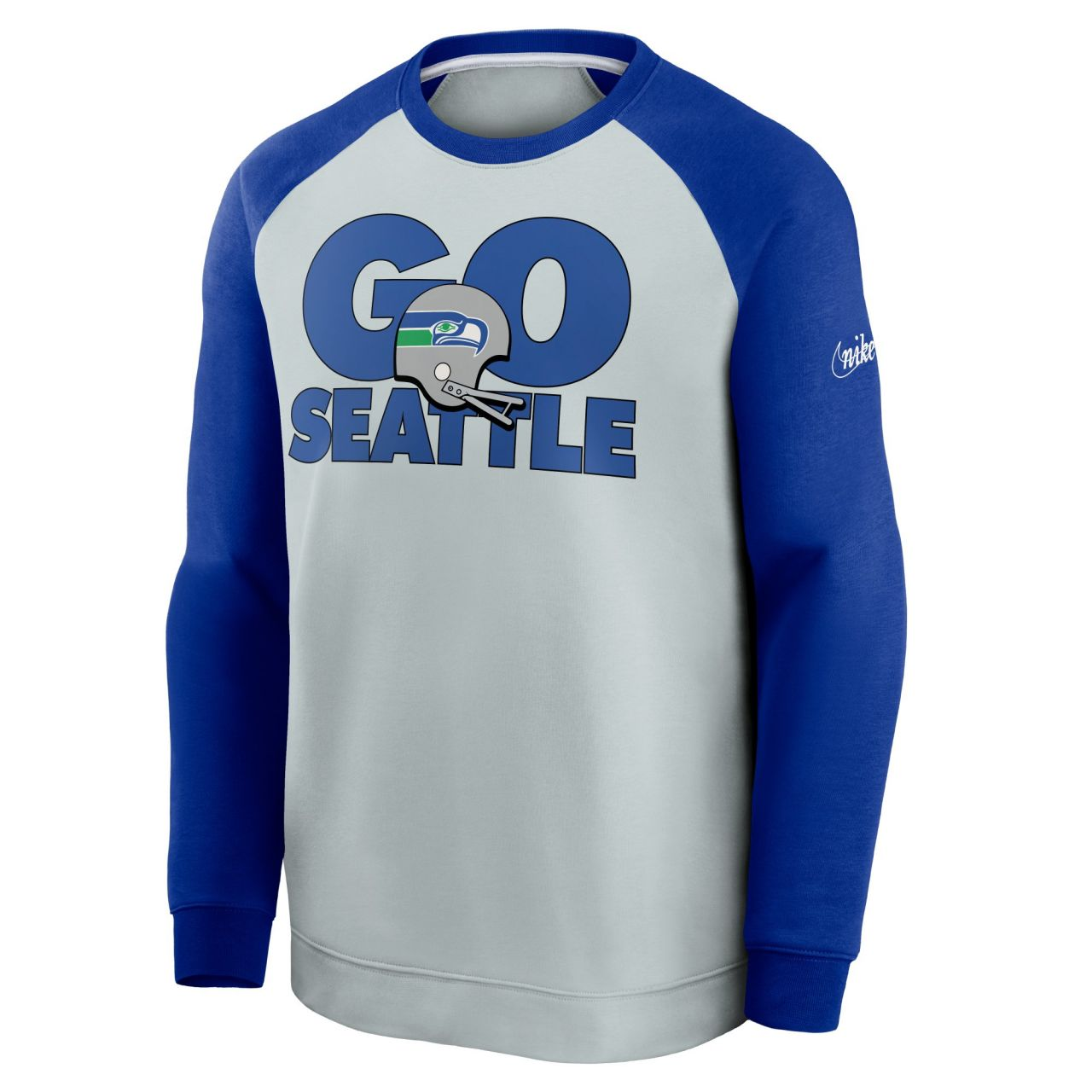 amfoo - Nike NFL Throwback Pullover - Seattle Seahawks 1983-1990